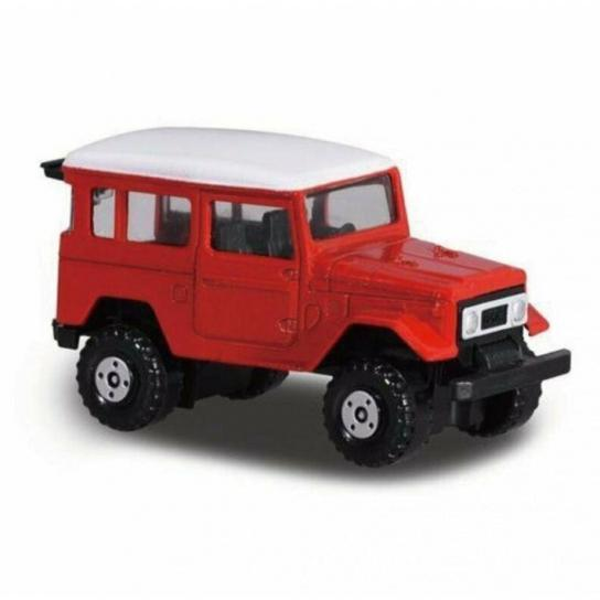 Majorette 1/64 Toyota Land Cruiser Red Street Cars image