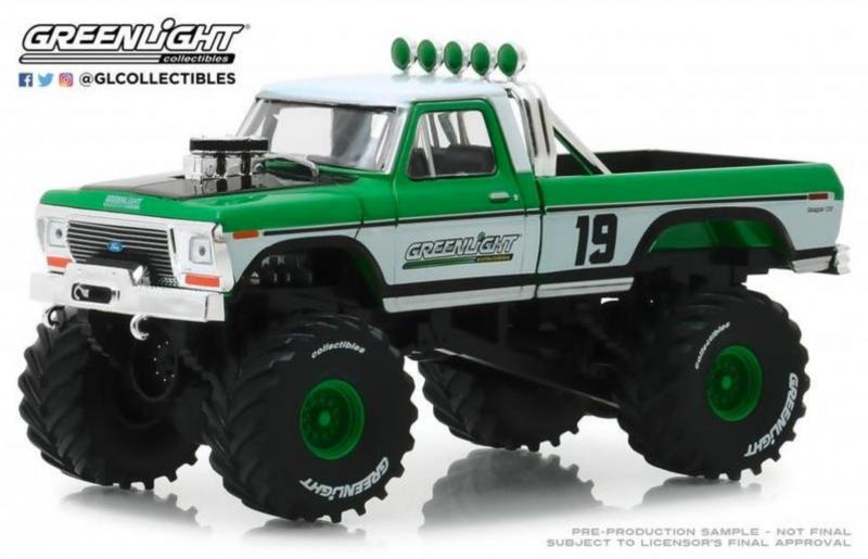 Greenlight 1 43 1974 Ford F 250 Monster Truck 19 Diecastmodels