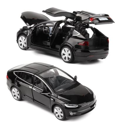 Hommat 1/32 Tesla MODEL X Black image